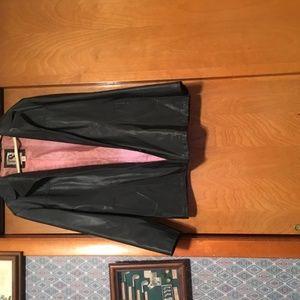 CS Signature Leather Coat
